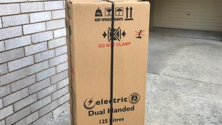 Rheem 491125 125L Electric Hot Water System Delivery